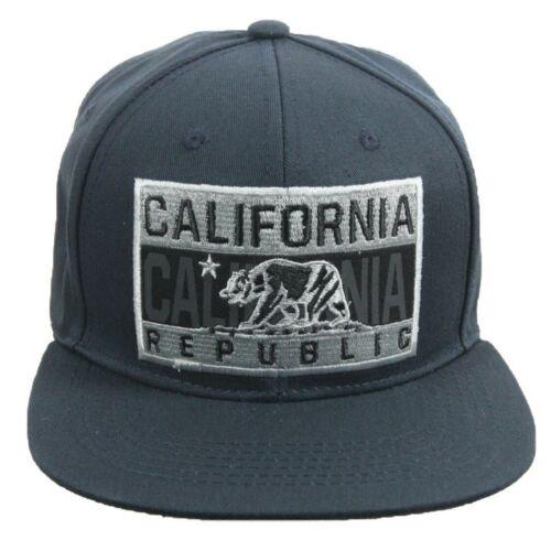 California Republic Baseball Cap Cali Bear Hat Snapback Cotton Sun Visor Outdoor