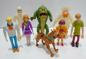 Monstres /& VILLAINS Scooby-Doo Toy Figures ~ Shaggy Velma Fred Daphne ~ Scooby
