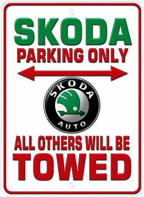 Dutch Parking Only Novelty Gift Parking Aluminum Sign