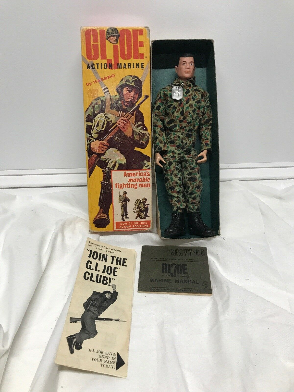 Vintage GI Joe action Marine 1964 Hasbro