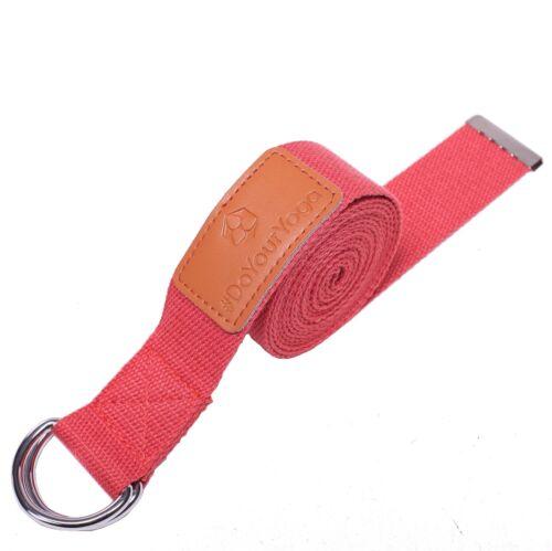 Yogagurt 260 Cm Ceinture Yoga Belt Fitness Stretch Ceinture Pilates bande étirements