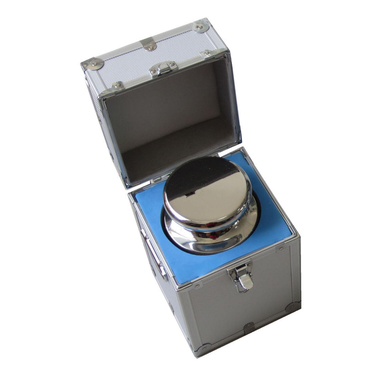 5 kg F1 Class 304 en acier inoxydable échelle Balance Calibration Poids W Case 5000 g