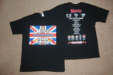 MISFITS UNION JACK UK TOUR 2006 OSAKA POPSTAR T SHIRT MEDIUM NEW OFFICIAL RARE