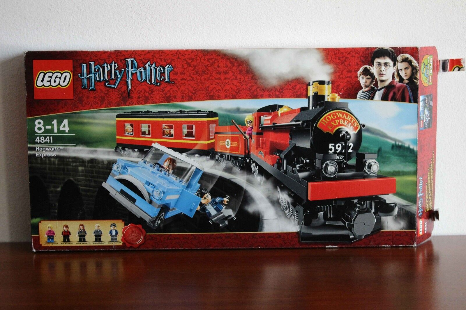 Lego Harry Potter Set  4841-1 Hogwarts Express 100% cmpl. + instr. e scatola  all'ingrosso a buon mercato