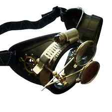 Steampunk Victorian Goggles Welding Glasses Diesel Punk--Rsw Crazy Scientist New