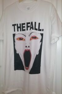 The Fall Music Ghost T Shirt Post Punk Indie Rock Smiths Cure Joy Division 352