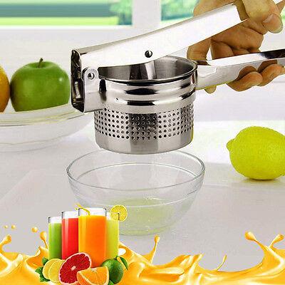 Kitchen Stainless Steel Lemon Orange Lime Fruit Squeezer Juicer Hand Press Tool