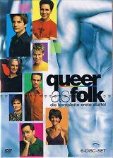 Queer as Folk  Die erste Staffel (6 DVDs) Neu OVP Sealed Deutsche Ausgabe