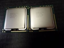 2pcs of Intel Xeon E5540 SLBF6, LGA 1366, 8M Cache, 2.53 GHz, NO FAN