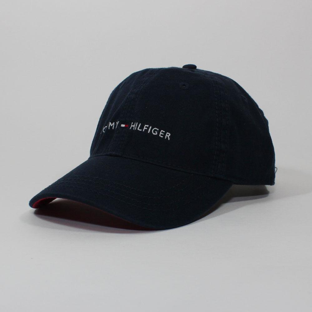 Tommy Hilfiger Cotton Baseball Cap Mens Womens Unisex Hat
