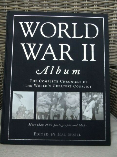 World War II Book- Edited by Hal Buell - New