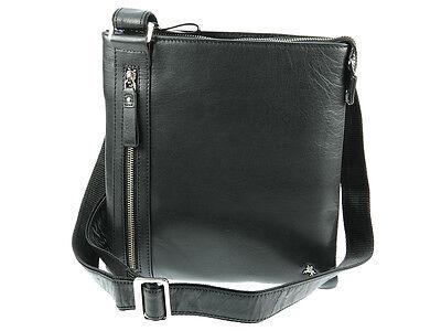 Visconti Tablet Friendly Veg Tan Buffalo Leather Messenger Shoulder Bag - ML25