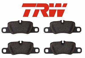 For Porsche 911 Carrera S 4S GTS 01-12//w//o PCCB Front Disc Brake Pads Set TRW