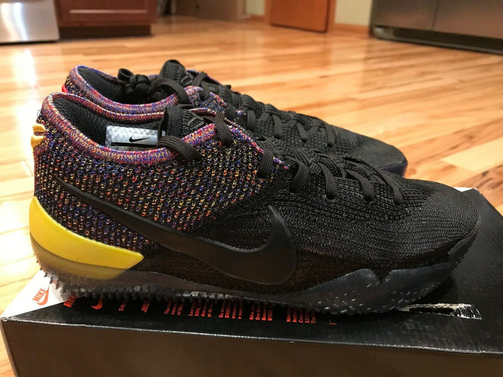 a36f521c74 Nike Kobe AD NXT 360 Black Multi-color AQ1087-002 Men's Size 7.5  nqbgtj2696-Athletic Shoes