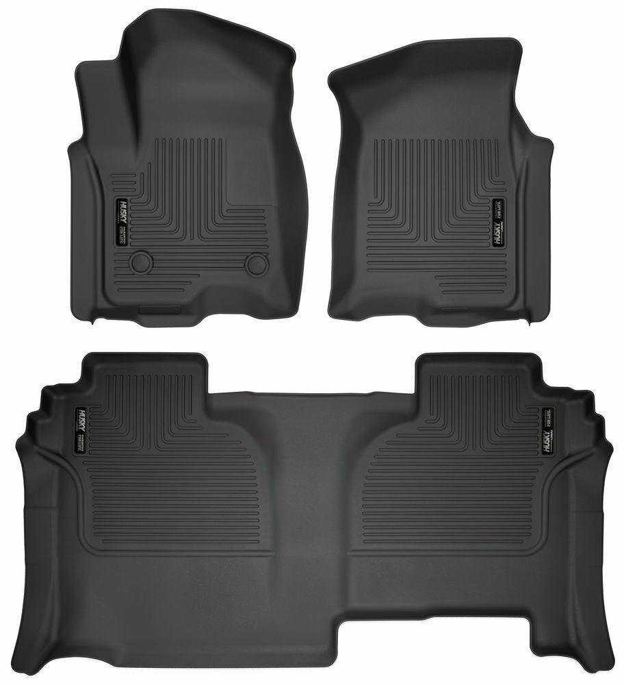 SALE HUSKY FLOOR MAT FRONT /& 2nd Row Seat 3 Pcs Set 2014-2019 Toyota Corolla