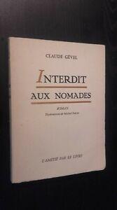 Claude Gevel No a Las ¡ Pieza Única ! Novela Dibujado Frerot 1957 Pin Buen