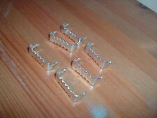 10 PICTURE FRAME HOOKS,SAWTOOTH,HANGER,HANGING SAW TOOTH,No Nails
