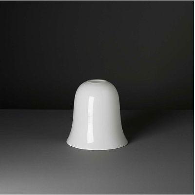 Lampenglas Tulpenschirm Bauhaus Art Deco Opal Neu Ø 25cm