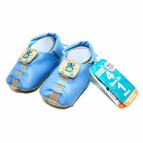 Expandable /& Adjustable Soft Sole Baby Shoes Shupeas Robot Design