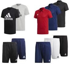 adidas Lifestyle Poloshirt / Logo T-Shirt / Trainingsshorts für Sport und Freize