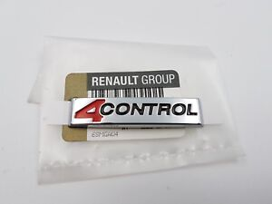 MONOGRAMME RENAULT LAGUNA 3 et COUPE 4 CONTROL ORIGINAL BADGE LOGO ORIGINAL