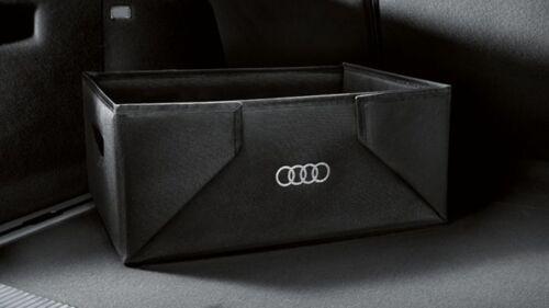Audi originales kofferraumbox protección bajo situación plegable 32l negro 8u0061109-nuevo