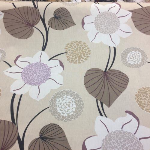 Dalila Vainilla de tela de algodón por prestigiosas textiles
