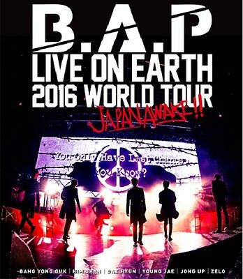 B.A.P [LIVE ON EARTH 2016 WORLD TOUR JAPAN AWAKE!!] Blu-Ray