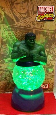 MARVEL COMICS INCREDIBLE HULK LIGHTED WATER GLOBE SPARKLER WG D5