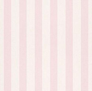 Neuf Rasch - Rayures Enfants Ados Chambre Rose et Blanc Nurserie ...
