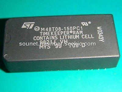 ST M48T18-150PCI DIP-28 64Kb 8K X 8 cronómetro del Sram 64K IC