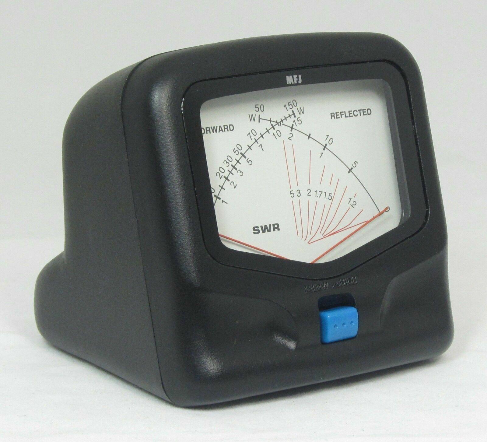 MFJ-822 r.w.antennastore MFJ-822 HF/VHF SWR/Wattmeter - 1.8 to 200 MHz 30/300 Watts. Base mobile ham