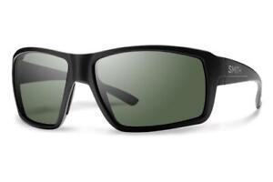 Image is loading Smith-Colson-Matte-Black-Sunglasses-w-Polarized-Gray- b0d304ce5ef5