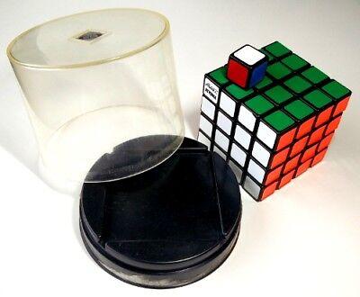 Bellissimo Vintage Originale 1982 4x4 Cubo Di Rubik Plus 1x1x1 Cubo Di Rubix! Custodia Originale!-mostra Il Titolo Originale A Tutti I Costi