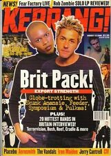 Feeder & Skunk Anansie on Kerrang Cover 1998    Placebo    Richie Sambora