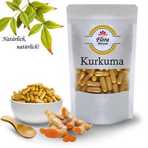 Kurkuma-Kapseln-Ohne-Zusaetze-Hochdosiert-Vegan-600mg-Curcuma-Pulver-Kapsel