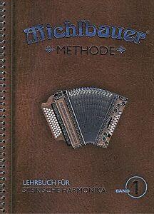 Steirische-Harmonika-Schule-Michlbauer-Methode-1-Lehrbuch-mit-CD-Griffschrift