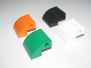 88293 choose color Lego brick round corner brick corner curved quarter