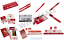 Liverpool FC Back to School Stationery Set Pen Pencil Case Book Student Pad Gift
