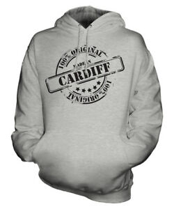 Gift Birthday Cardiff Hoodie Unisex Ladies Christmas Mens 50th In Made Womens znTxO0wT