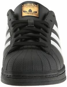 Details about B27140 BlackWhiteGold Mens Adidas Originals Superstar Foundation Sneaker