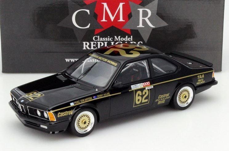 CMR 007 009 011 BMW 635 CSI In Resina Modello Auto Da Corsa PRINZ V Bayern bloccato 1 18th