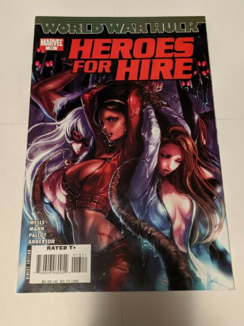 Heroes For Hire #13 October 2007 Marvel Comics Wells Mann Pallot Anderson