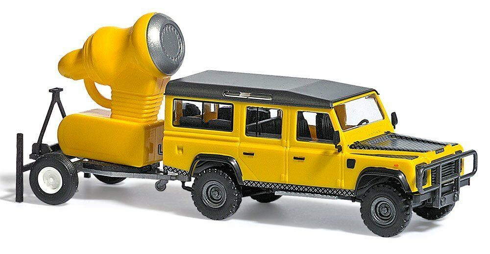 Busch 50355 Land Rover Defender with Snownan H0 Vehicle Finished Model 1 87