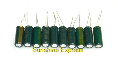 Lot of 10 pcs TEAPO 6.3v 3300µF Electrolytic Capacitor 10x25mm 105°C ±20/% NEW