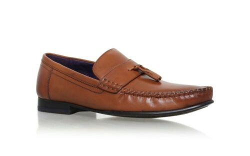 Size UK 7 UK 10 Ted Baker Men/'s Tan Simba Tassel Penny Loafer Sip-On Shoes