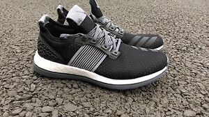 ADIDAS-PURE-BOOST-ZG-PRIME-MENS-SIZE-UK-8-5-EUR-42-TRAINERS-BLACK-FLASH-YEEZY