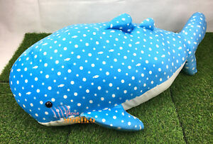 BIG Jinbesan Maigo Kokujira Plush Neko Cat Toreba Swaying Jinbei-san Whale Doll