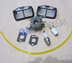 Carburetor Carb & Air Filter F HUSQVARNA 136 137 141 142 ...