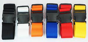 10-x-Koffergurt-Gepaeckgurt-Gepaeckband-50mm-breit-bis-175cm-unbedruckt